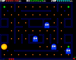 Deluxe Pacman Amiga Public Domain Screen Shot