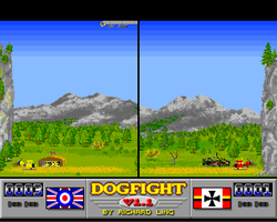 Dog Fight 1.1 Amiga Public Domain Screen Shot