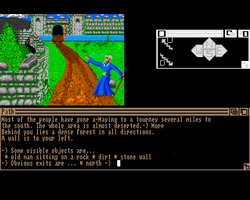 Castle of Doom Amiga Public Domain Screen Shot