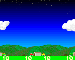 Dog Fight Simulator Amiga Public Domain Screen Shot