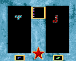 Tetris Duel Amiga Public Domain Screen Shot