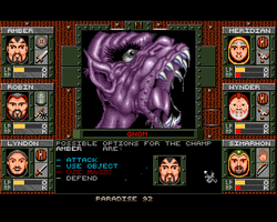 Dungeons of Avalon Amiga Public Domain Screen Shot