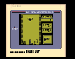 Amiga Boy Tetris Amiga Public Domain Screen Shot