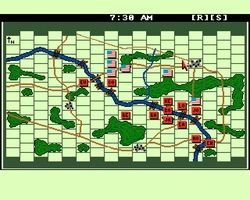 Bull Run Amiga Public Domain Screen Shot