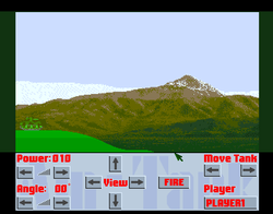 Am Tank Amiga Public Domain Screen Shot
