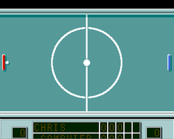 Battle Pong Amiga Public Domain Screen Shot