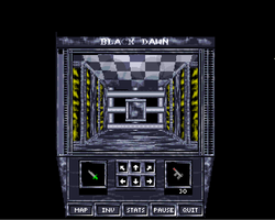Black Dawn Amiga Public Domain Screen Shot