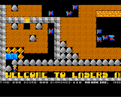 Boulderdash 2 Amiga Public Domain Screen Shot