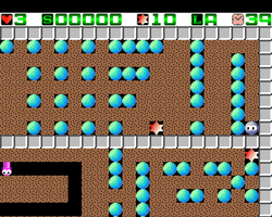 Cave Runner Amiga Public Domain Screen Shot