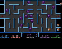 Monsters Screenshot Amiga Public Domain