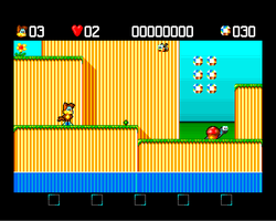 Monty Screenshot Amiga Public Domain