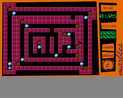 Marbles Screenshot Amiga Public Domain