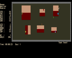 Moria Screenshot Amiga Public Domain